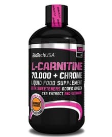 L-Carnitine 70.000 + Chrome от BioTech